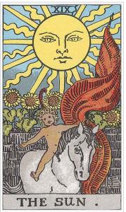 タロットウェイト版太陽