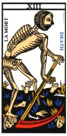 マルセイユ版 タロット死神