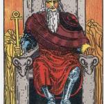 ◆自分に責任 タロット皇帝
