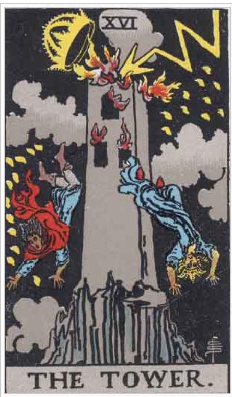 タロット ウェイト版タワー
