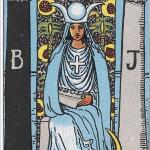 タロットウェイト版女教皇