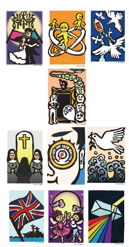 サビアンシンボル10個をイメージで読む