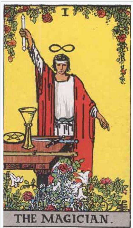 タロットウェイト版魔術師